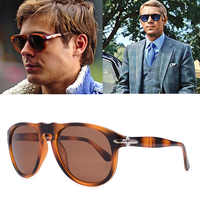 2020 luxury Classic Vintage Pilota Steve Stile Occhiali Da Sole Polarizzati 007 Uomini di Guida di Disegno di Marca Occhiali Da Sole Oculos 649