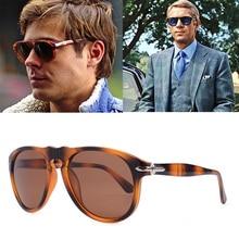2020 gafas de sol polarizadas clásicas de lujo estilo piloto Steve 007 para hombres gafas de sol de diseño de marca de conducción Oculos 649