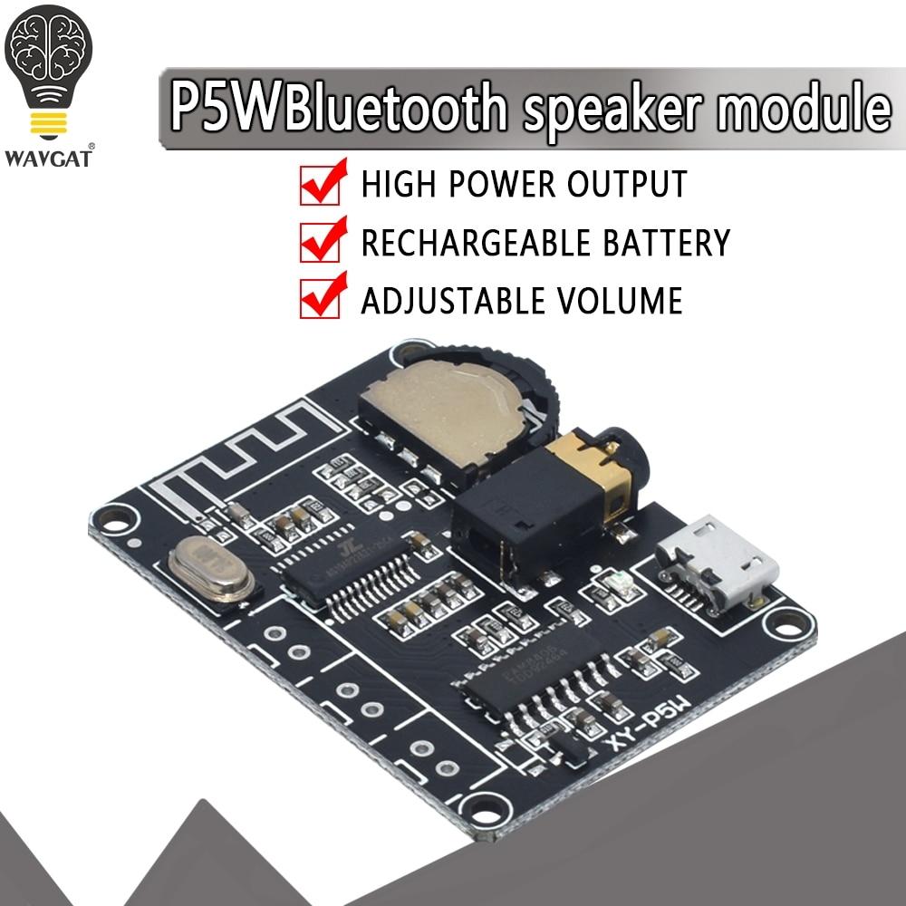 Новый 5 Вт + 5 Вт PAM8406 Bluetooth 5,0, стерео модуль усилителя мощности звука, модуль усилителя звука, для Arduino, diy kit Интегральные схемы      АлиЭкспресс