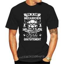 T-shirt homme noir, 2020 coton, à la mode, Je Suis mécanicien, Je Ne Vais Pas le réparer, 100%