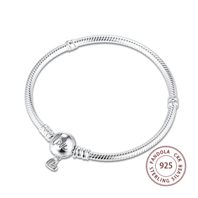 Chaîne De Sécurité pour Bracelet Maille serpent-Argent 925 Sterling:Marguerite