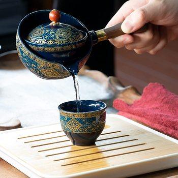 Portable Porcelain Chinese Gongfu Tea Set 2