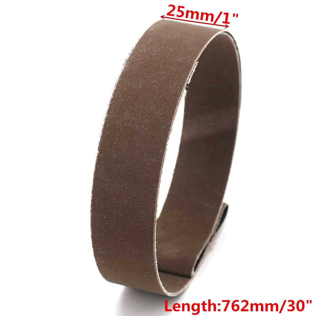 Kit Sanding Belt 25mmx762mm 1