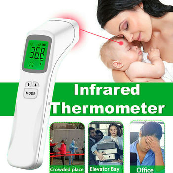 LED Display No Touch Infrared Digital Forehead Thermometer Baby Adult Body Temperature Gun Health Care