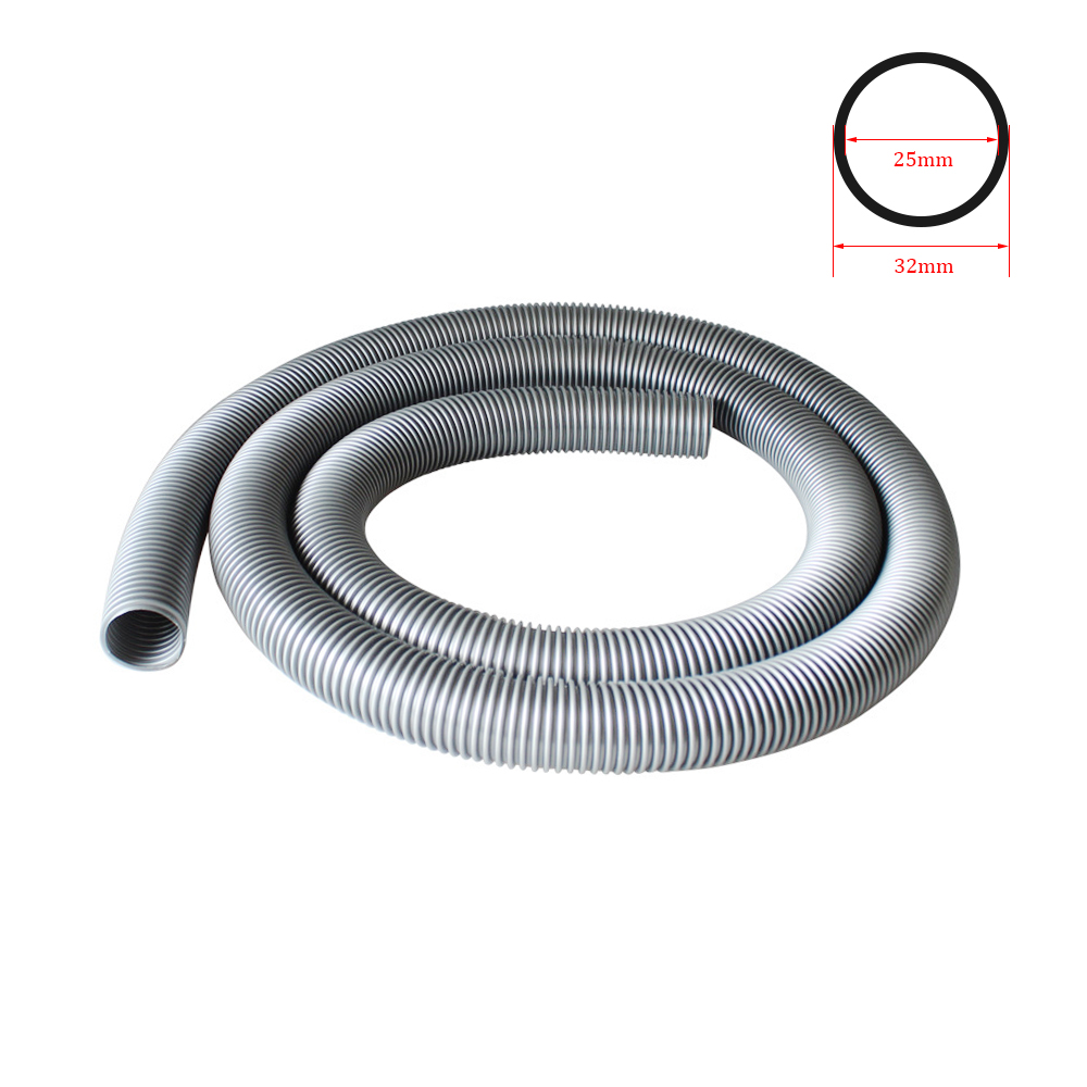 Inner 25mm Vacuum Cleaner Thread Hose Soft Pipe Durable Vacuum Tube Accessories Flexible Factory Bellows Straws Outer 32mm