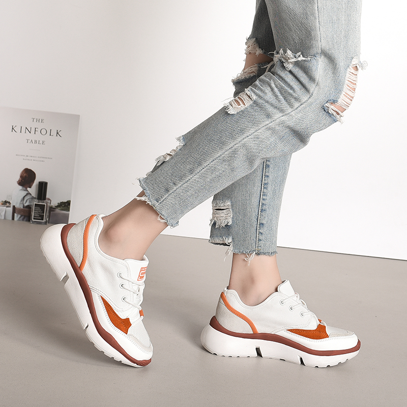 831711 Fashion Women Shoes Sneakers Breathable Ladies Platform Female Casual Comfortable 2019