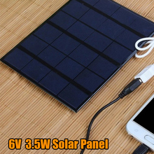 Battery-Charger Power-Bank Solar-Module with Usb-Port Outdoor for Mobile-Phones Charging-Board