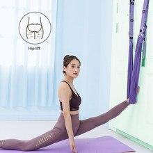 Correa de Yoga aérea multifuncional, cinturón de Yoga de estiramiento para Hamaca, baile, gimnasia, flexibilidad auxiliar, entrenador, equipo de Fitness