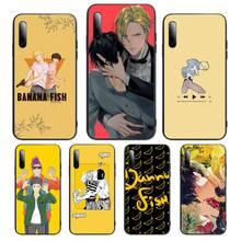 Japanese Anime Banana Fish Phone Case For Huawei P Y Nova mate Y6 9 7 5 prime mate20 lite nova 3E 3I Cover Fundas Coque