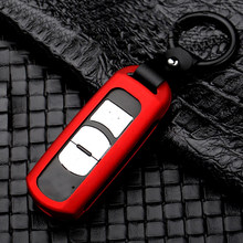 With Keychain Key Case Replacement Parts Car Auto Protector Cover Durable(China)