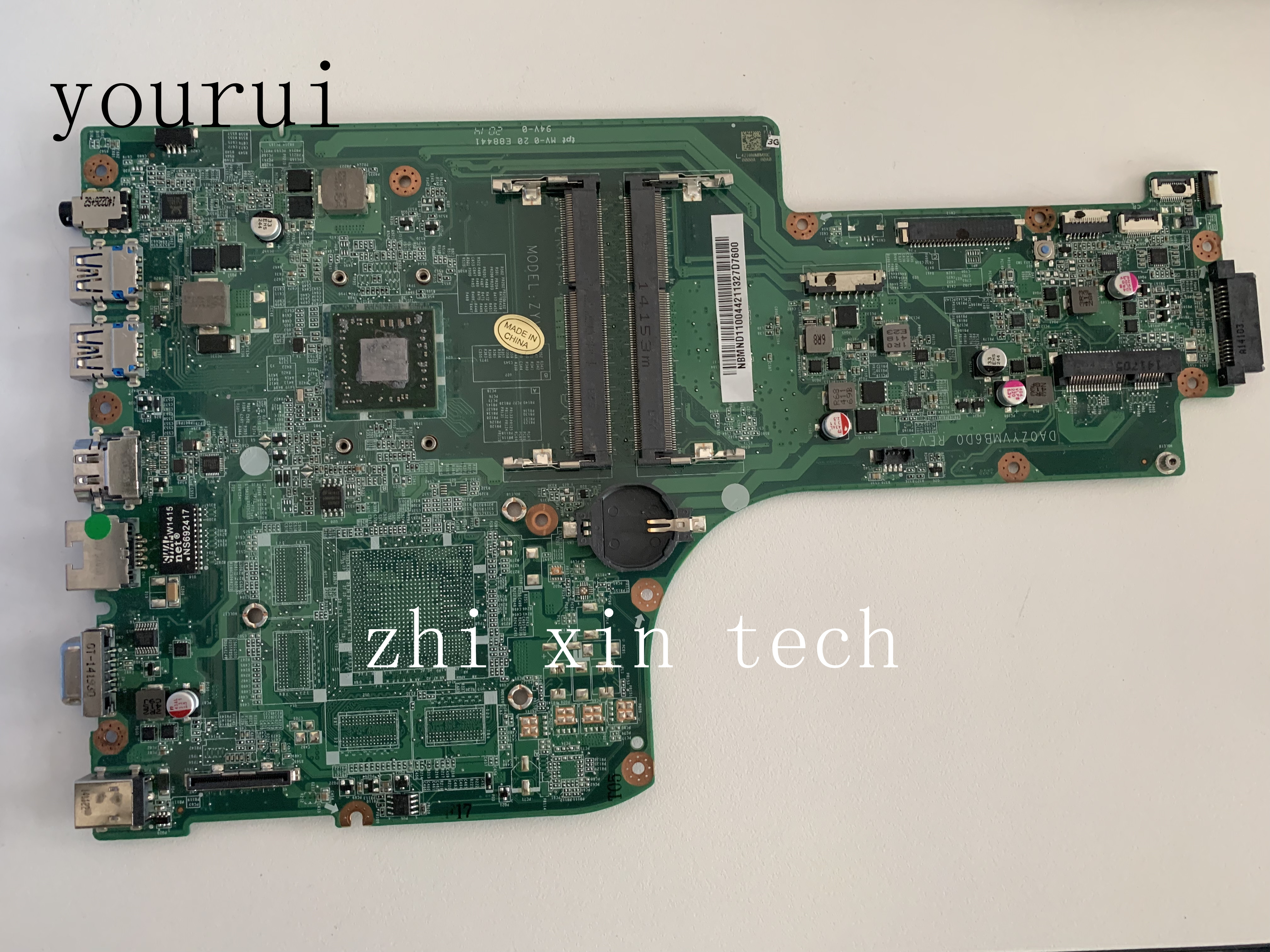 yourui For acer aspire E5-721 E5-721G Laptop motherboard A4-6210 NBMND11003 NB.MND11.003 DA0ZYVMB6D0 Test all functions 100%