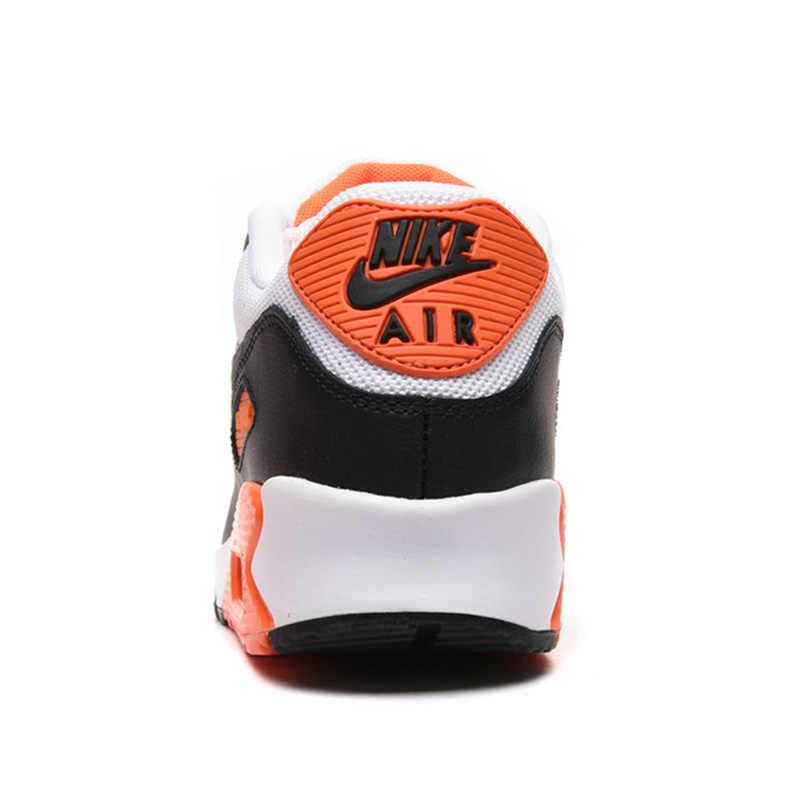 Originais Autênticos Homens da NIKE AIR MAX 90 ESSENCIAL Respirável Running Shoes Sapatilhas Esportes Ao Ar Livre Tênis De Grife Atlético