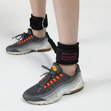 Ankle Strap Buckle Fitness Resistance Band Gym Thigh Leg Weightlifting Rope Strength Training Expander