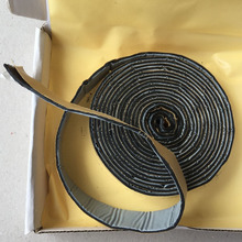 2*320CM Black Butyl Rubber Glue Car Soundproof Door Windshield Edge Headlight Sealant Retrofit Reseal HID Headlamps Shield Glue