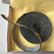 2*320Cm Zwart Butyl Rubber Lijm Auto Geluiddichte Deur Voorruit Edge Koplamp Kit Retrofit Reseal Hid Koplampen Shield lijm