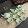 Креативная чайная чашка  фарфоровая чаша  чайная посуда  чайная посуда  фарфоровый чайный набор кунг-фу  керамическая чашка Gongfu  чайный набо...