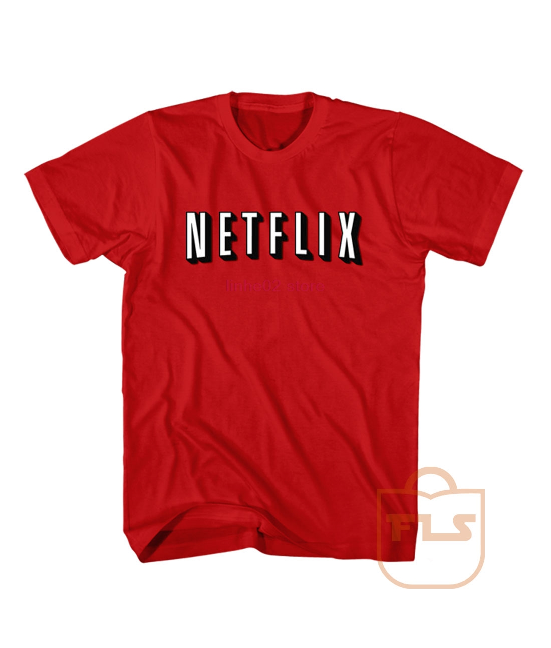 Netflix T Shirt Summer T-shirt Fashion T-shirt