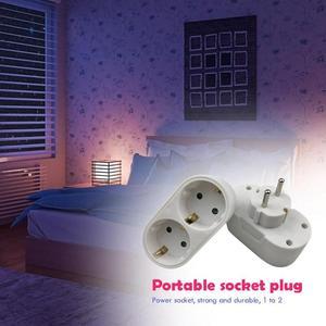 Image 5 - Europese Conversie Plug 1 Naar 2 1to 3 1 T 4 Way Socket Adapter Eu Standaard Power Adapter Socket 16A reizen Pluggen Ac 110 ~ 250V