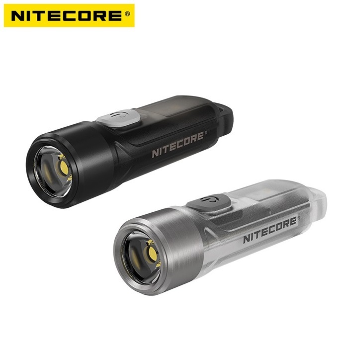 NITECORE TIKI TIKI LE 300 Lumens MINI Futuristic Keychain Light USB Rechargeable