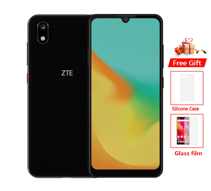 Original Global ROM ZTE Blade A7 4G LTE Mobile Phone Helio P60 Octa Core Android 9.0 6.08