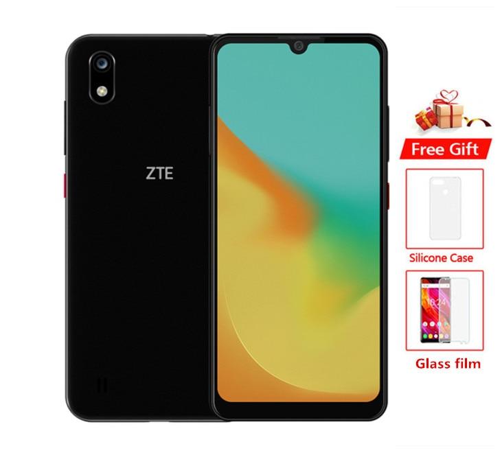 Original Globale ROM ZTE Klinge A7 4G LTE Handy Helio P60 Octa Core Android 9.0 6,08 IPS 3GB + 64GB 16MP Gesicht ID smartphone
