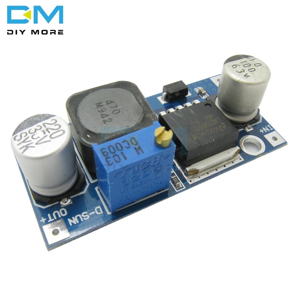 10PCS DC-DC LM2596HVS LM2596HV Adjustable Step Down Buck Converter Power Module