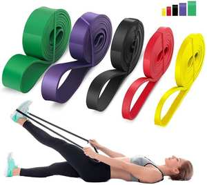 Resistance-Band Expander Exercise Stretch Pull-Up Fitness-Training Pilates 208cm Home-Workout