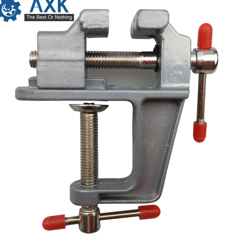 Brand New Aluminum Alloy Table Vice Bench Screw Bench Vise For DIY Jewellery Craft Mould Fixed Repair Tool DT279