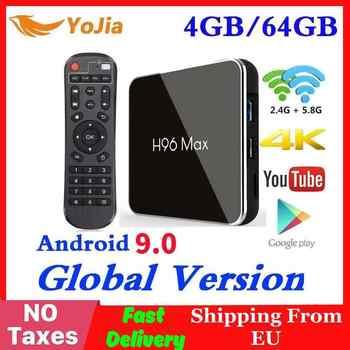 4GB RAM 64GB Rom Android 9.0 TV BOX H96 MAX X2 Amlogic S905X2 Smart 4K Media Player 2.4G&5G Wifi H96MAX Set Top Box 2G16G - DISCOUNT ITEM  30% OFF All Category