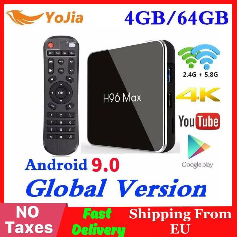 4GB RAM 64GB Rom Android 9.0 TV BOX H96 MAX X2 Amlogic S905X2 Smart 4K Media Player 2,4G & 5G Wifi H96MAX Set Top Box 2G16G