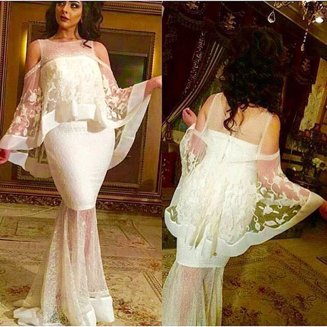 Wedding Decoration New Design Custom Made Ivory Lace Evening 2018 With Shawl Bridal Gown Mother Of The Bride Dress