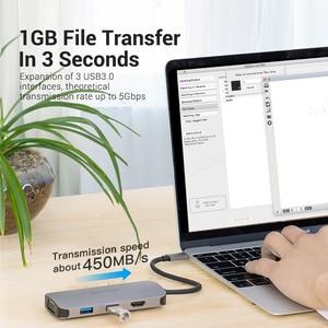 Image 4 - Vention tipi C Hub USB C HDMI USB 3.0 HUB Thunderbolt 3 adaptörü için MacBook Samsung S10/9 huawei Mate 30 P30 Pro USB C HUB