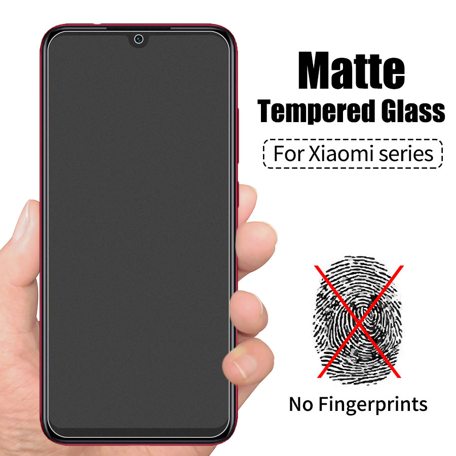 Tempered-Glass Glass-Film Screen-Protector Matte Poco Xiaomi Redmi For Mi-9t 9/8-se/A3