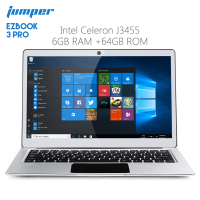 Original Jumper EZBOOK 3 PRO 13.3 inch Notebook Windows 10 Intel Celeron J3455 6GB RAM 64GB Laptop eMMC HDMI Dual WiFi