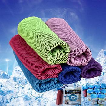 Ręcznik plażowy ręcznik chłodzący podróż szybkoschnący ręcznik plażowy ręcznik sportowy z mikrofibry do jogi Gym Travel Camping Golf Football Outdoor tanie i dobre opinie CN (pochodzenie) Poliester Bawełna Microfiber Sport Towel as the picture shows 30x80 cm Universal Fitness running yoga climbing home beach