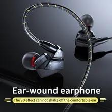Wired Earphones Headsets Waterproof Earbuds Music Sport In-Ear Hifi