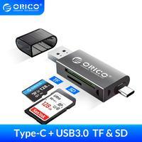 Lettore di schede ORICO USB 3.0 2 In 1 TF OTG compatibile con SD Smart Memory tipo C lettore di schede adattatore ad alta velocità per PC Computer Laptop