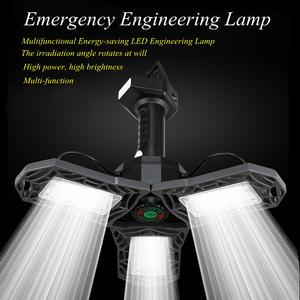 Lamp Led-Deformable Plugged Garage-Workshop Folding Energy-Saving Factory-Repair Multifunctional