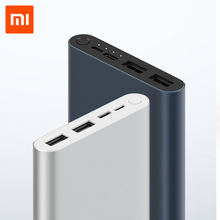 Xiaomi Mi Power Bank 3 External Battery Bank 18W Quick Charge Powerbank 10000