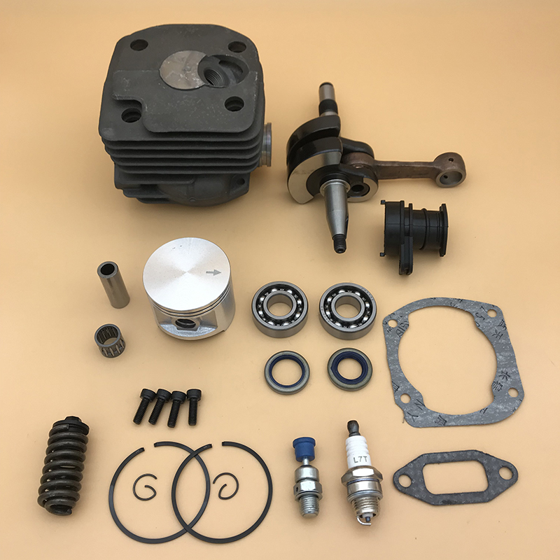 Kit Parts  372 Bearing 50mm 48mm Buffer Cylinder Chainsaw For  Amp Spark Husqvarna 371 362 Plug Crankshaft Piston Spring 372XP 365