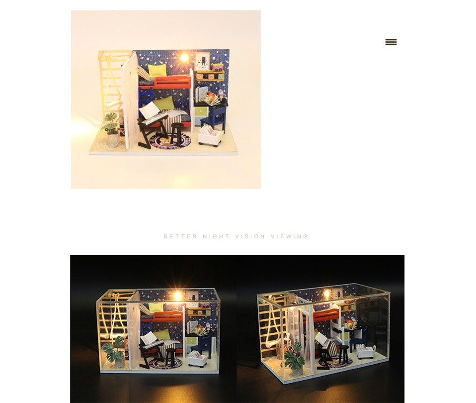 Future Space DIY 3D Miniature Room Kit