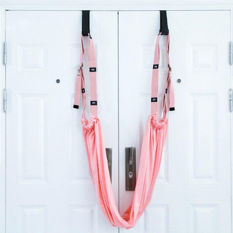 Pink - Flexible stretch yoga belt