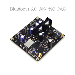 Image 2 - bluetooth 5.0 wireless reception QCC3008  AK4493 Decoding Board With Antennas