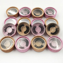 Wholesale hot selling 25mm mink fur lashes 3D real eyelash custom packaging Label Makeup Dramatic Long Mink Lashes