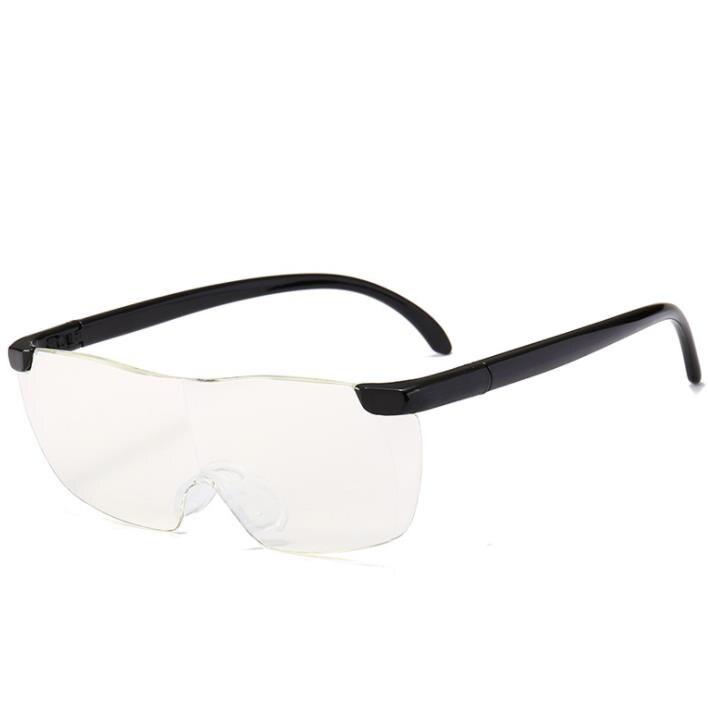 Зеркало для чтения, 250 градусов, очки для зрения, увеличительные очки, очки для чтения, портативный подарок для родителей, дальнозоркое увеличение