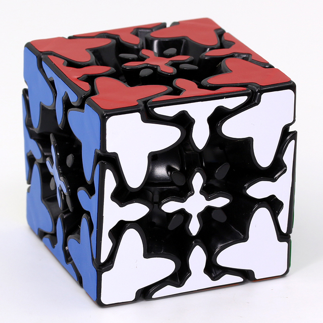 Puzzle Magic Cube FangCun Rapid 3x3x3 mixup gear cube strange shape professional speed cube educational Logic game gift toys ZPuzzles & Games