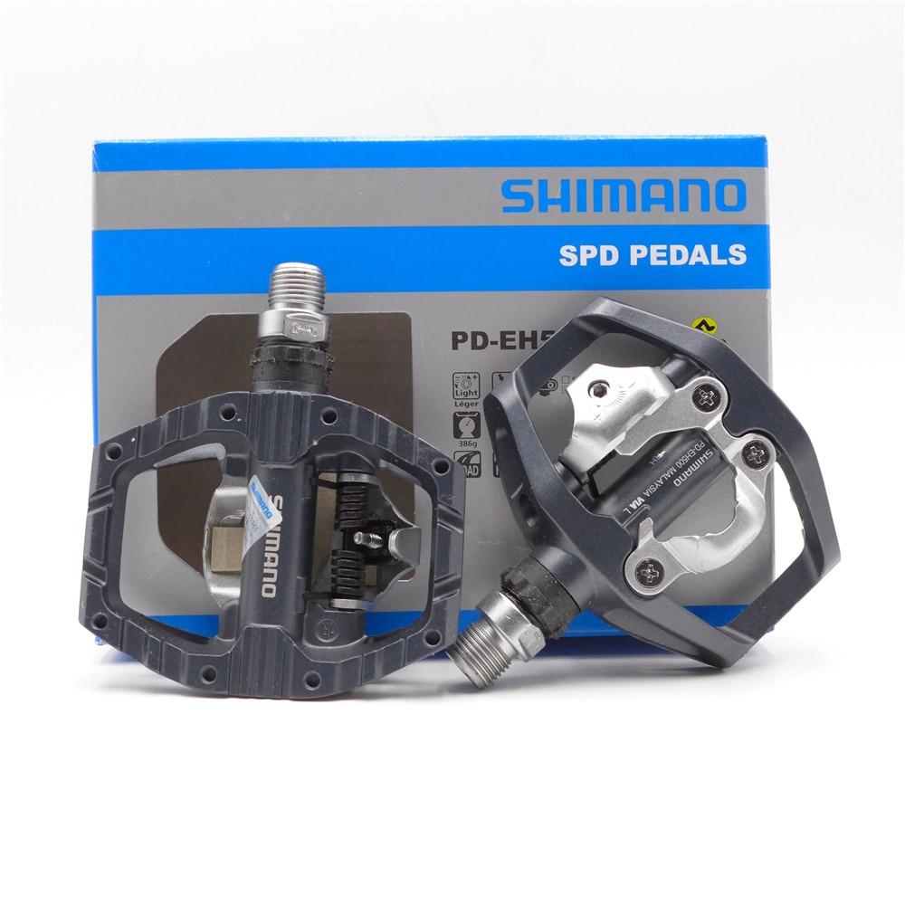 Shimano Pd EH500 Dubbelzijdig Platform/Clipless Spd Pedalen Met Cleat SM-SH56 Originele PD-EH500