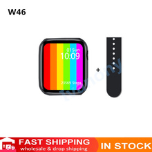 Custom หน้าปัด IWO W46สมาร์ทนาฬิกาผู้ชายผู้หญิงไร้สาย Smartwatch IP68กันน้ำ Infinite นาฬิกาหน้าจอ VS T500 AK76