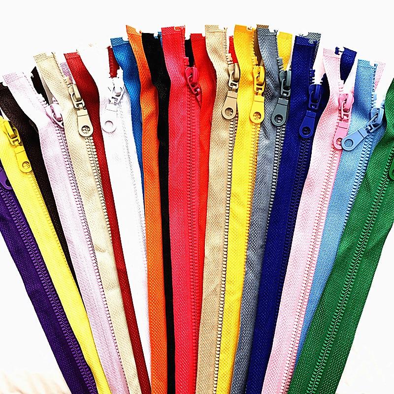 2-5 шт., 5 #25-70 см, съемная пластиковая застежка-молния для швейных костюмов