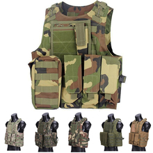 Tactical Amphibious Vest Military Equipment Army Plate Carrier Outdoor Paintball Airsoft Body Armor Hunting